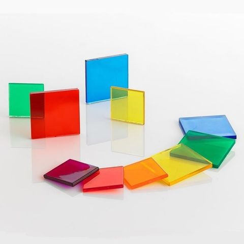 Счетный материал Плитки прозрачные (контейнер), Edx education 13442J