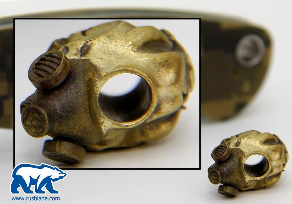 """Custom Sword Knot """"Stalkers skull"""" Limited Edition - фотография"""