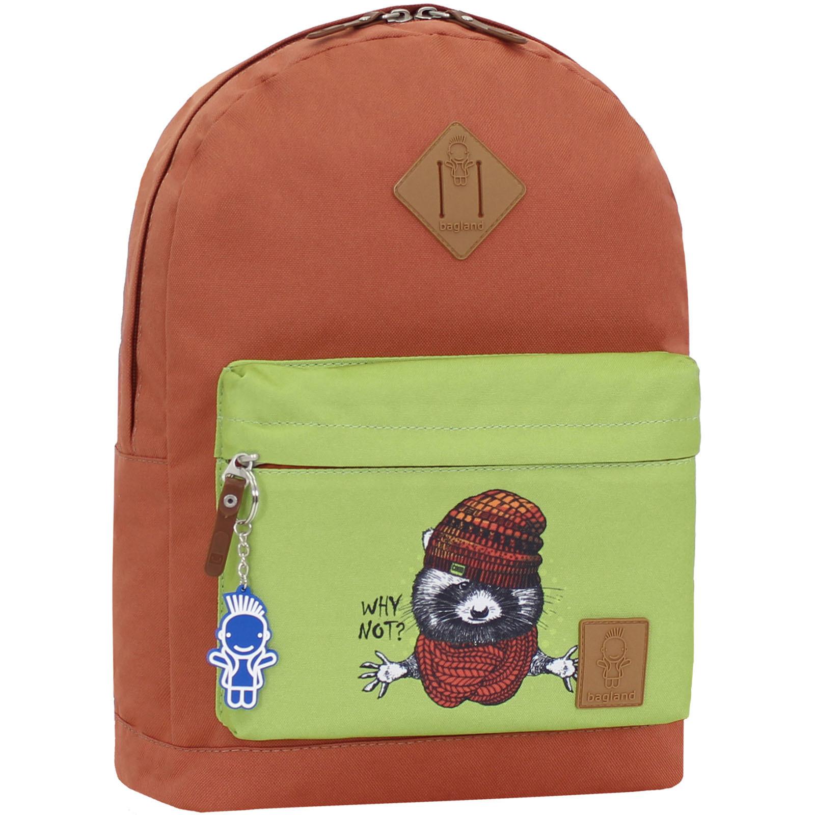 Городские рюкзаки Рюкзак Bagland Молодежный W/R 17 л. кирпич 269к (00533662) IMG_1054_269к.JPG