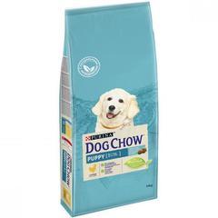 Сухой корм для щенков всех пород, Purina Dog Chow,  до года с курицей