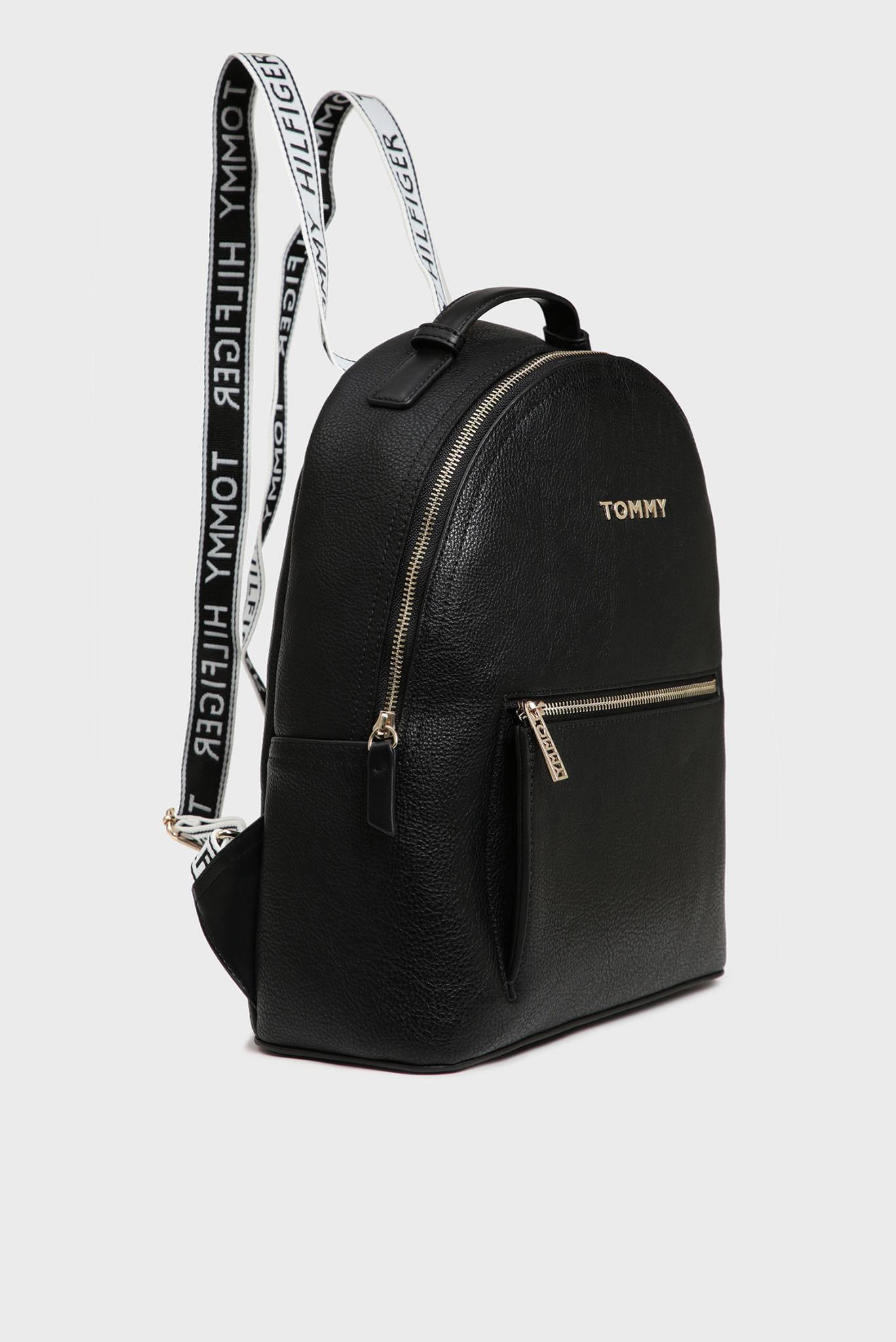 Женский черный рюкзак ICONIC Tommy Hilfiger