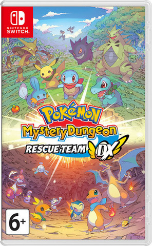 Pokémon Mystery Dungeon: Rescue Team DX (Nintendo Switch, английская версия)