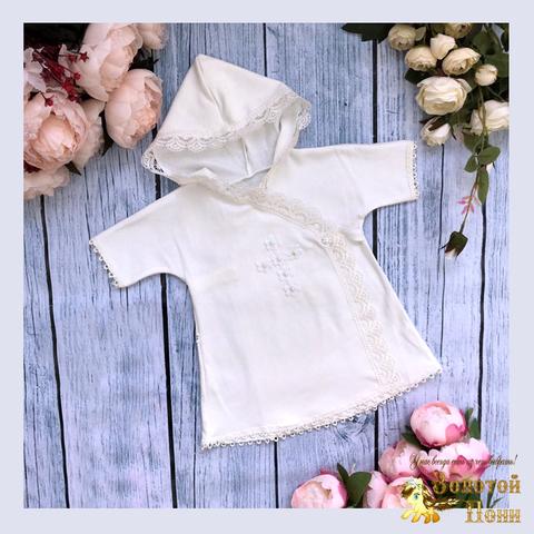Рубашечка для крещения (62-80) 210613-R78098