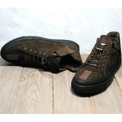 Кеды кроссовки мужские Luciano Bellini 71748 Brown