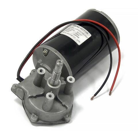 Электромотор c редуктором, 12 В