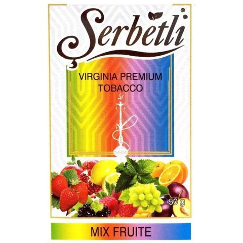 ТАБАК SERBETLI (PREMIUM) mix fruit - микс фрут  50 ГР