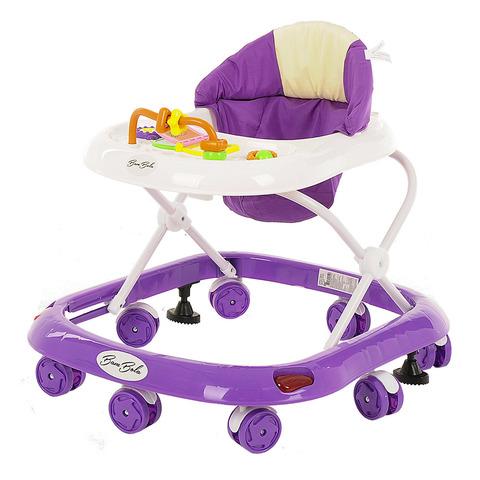 Ходунки 8 пластиковых колес, игрушки, музыка