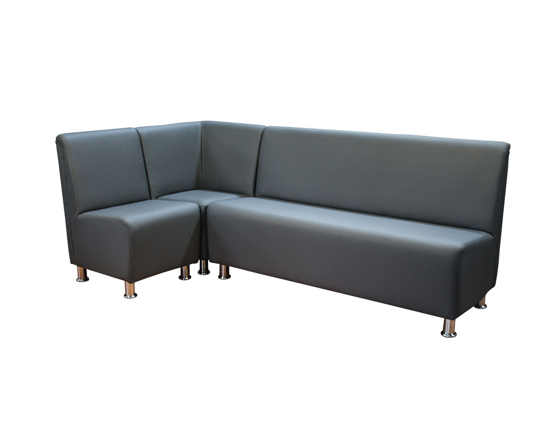 Комбинация из кресла, закрытого угла и 3-местного дивана Дели