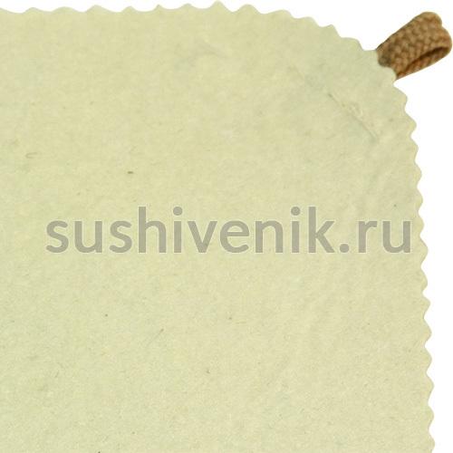 Коврик для бани из войлока (белый)