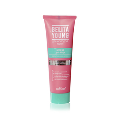 Крем для лица Безупречная кожа (туба 50 мл Belita Young)