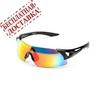Очки солнцезащитные 2K S-18035-U (чёрный глянец / красный revo)