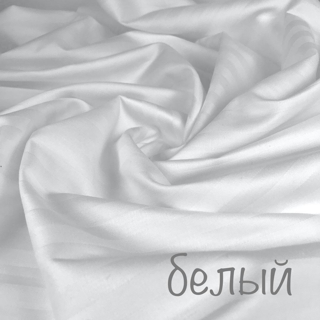 САТИН страйп - простыня обычная без резинки 220х240