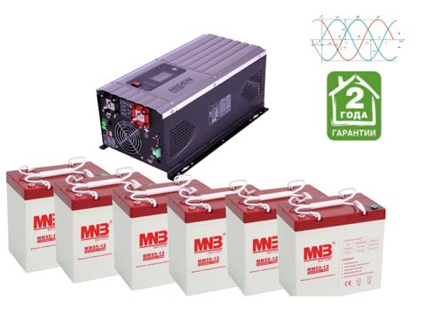 Комплект ИБП HPS30-3024-АКБ MM55 (24в, 3000Вт)