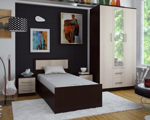 Спальня модульная Фиеста-3 венге