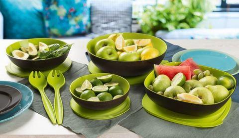 Аллегро набор чаш  в зеленом цвете