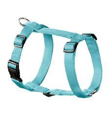 Шлейка для собак, Hunter Smart Ecco Sport S (30-45/33-54 см), нейлон бирюзовый