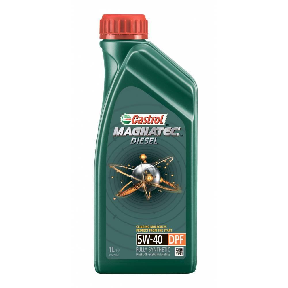 Castrol Magnatec Diesel DPF 5W40  Синтетическое дизельное масло