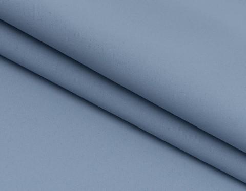 Портьерная ткань блэкаут голубая. Арт. Т-711-22