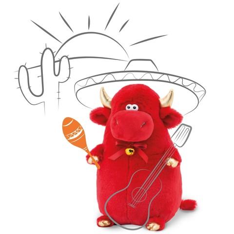 Символ года 2021 Бычок Перчик мягкая игрушка Orange Toys