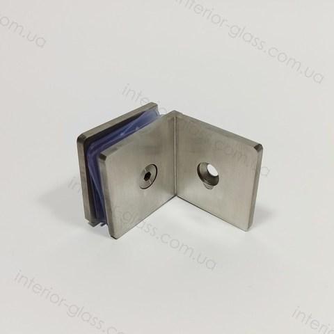 Соединитель (держатель) для стекла HDL-722 SSS литой нерж. сталь