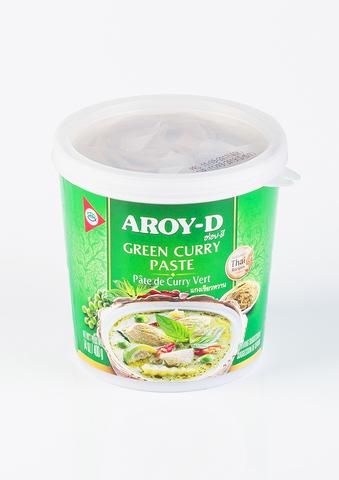 Паста Карри зеленая Aroy-D, 400г