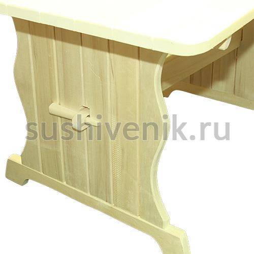 Стол 180*80 см (осина)