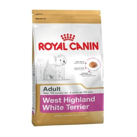 9 кг. ROYAL CANIN Сухой корм для взрослых собак породы Вест-Хайленд уайт терьер Westie 21