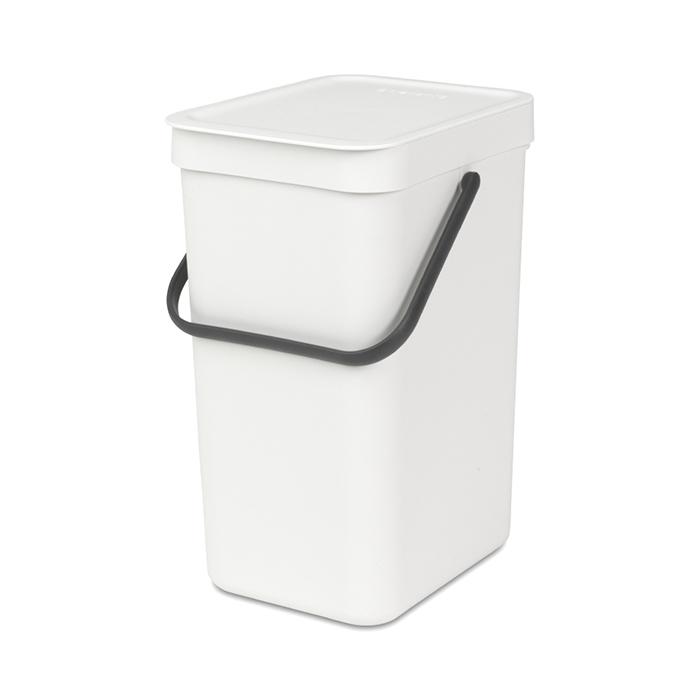 Встраиваемое мусорное ведро Sort & Go (12 л), Белый, арт. 109782 - фото 1