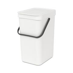 Встраиваемое мусорное ведро Sort & Go (12 л), Белый