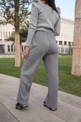 Серые трикотажные штаны интернет магазин