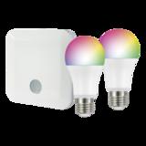 Контроллер Z-Wave.Me Hub + 2 лампы RGBW Z-Wave.Me