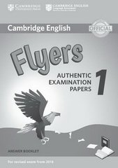 NEW C Young LET  Flyers 1 Answer Booklet