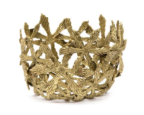 Cast Brass Petite Shasta Bowl