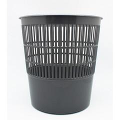 Корзина для мусора 10 л пластик серая (26х27 см)