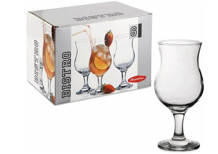 Набор бокалов для коктейля Pasabahce Bistro 380ml  6 шт.  44872-6