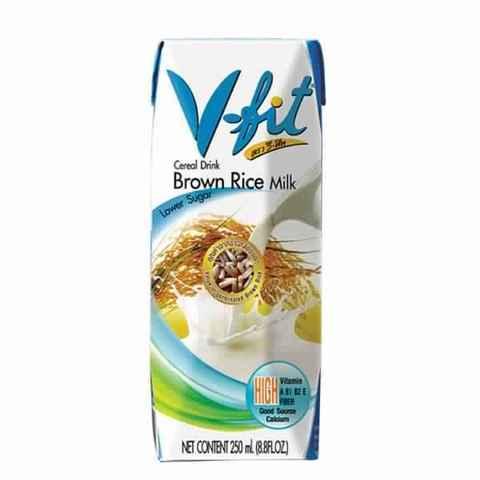 Молоко из коричневого риса б/сах 250мл