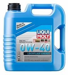 НС-синтетическое моторное масло Leiсhtlauf Energy 0W-40 4л Артикул: 39035