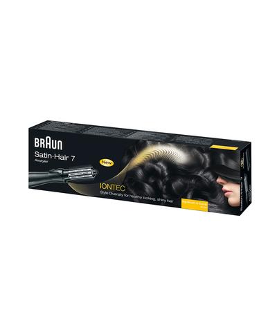 Фен-щетка Braun Satin Hair 7 Iontec AS720, 700 Вт, 2 насадки, черная