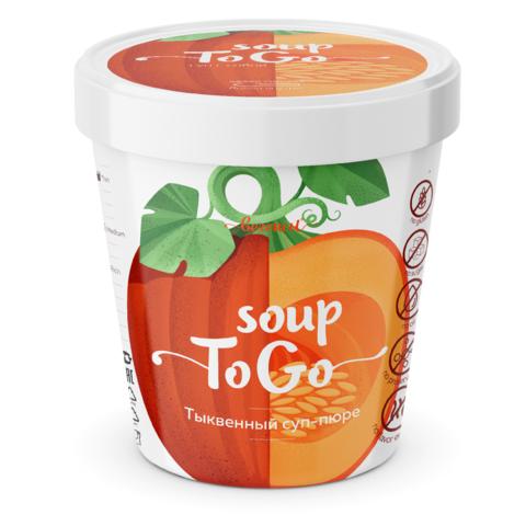 Суп-пюре Тыквенный, стакан, 30 гр. (Био Терра)