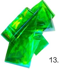 Битое стекло для дизайна ногтей №13