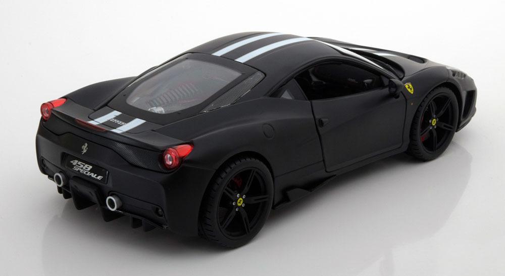 Коллекционная модель Ferrari 458 Speciale Coupe 2014 Black