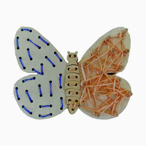 Шнуровка - Бабочка
