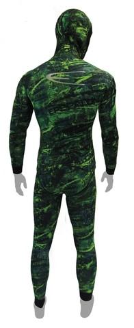 Куртка Epsealon Green Fusion Yamamoto 039 7 мм зеленый камуфляж – 88003332291 изображение 2