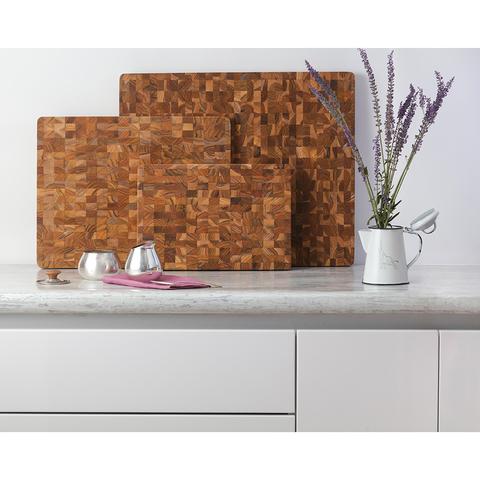 Доска разделочная торцевая Scandi 36x25 см