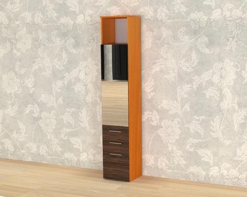 Шкаф ИТАЛИ-2 с зеркалом  /400*2152*373/  левый