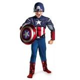 """Костюм супергероя Капитана Америки """"Первый мститель"""" с щитом"""
