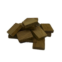 Кубики дубовые среднего обжига, 100 г