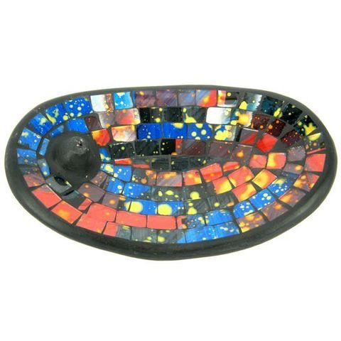 Подставка под благовония Rainbow, 13*21 см, керамика/стекло