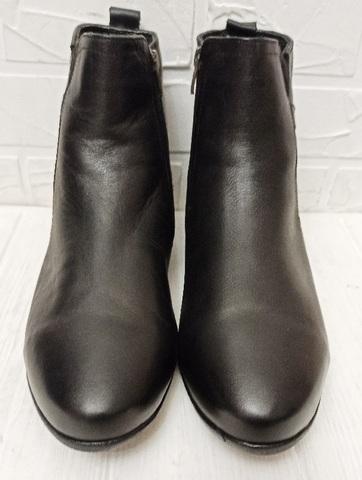 Классические ботинки зимние мужские. Черные зимние ботинки мужские кожаные с мехом Etor 3792