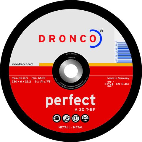 Шлифовальный диск Dronco A30T 150x6